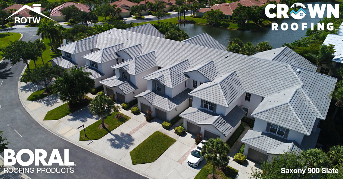 To show readers the installation of Boral Roofing's Saxony Concrete Roof Tile