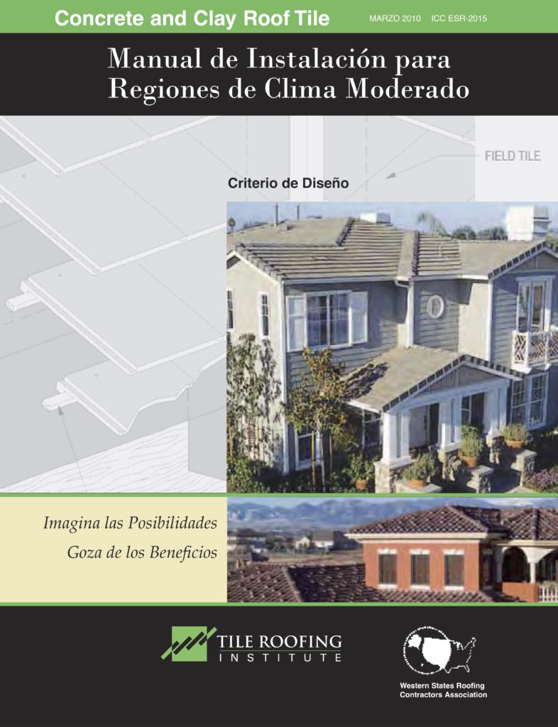 Tri Installation Manual For Moderate Climate Spanish Boral Roofing