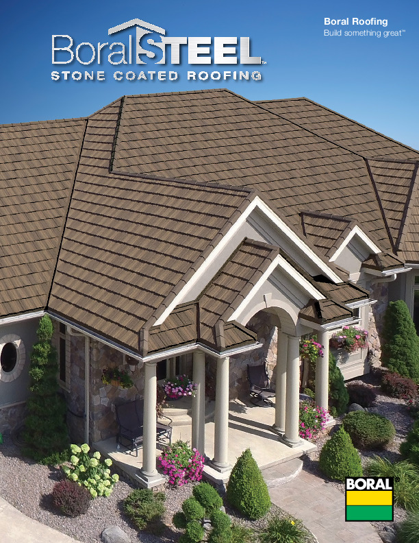 Boral Steel Stone Coated Roofing Brochure Boral Roofing
