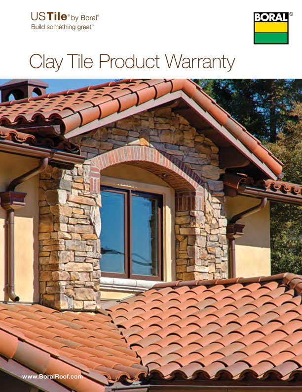 US Tile - Clay Tile Product Warranty
