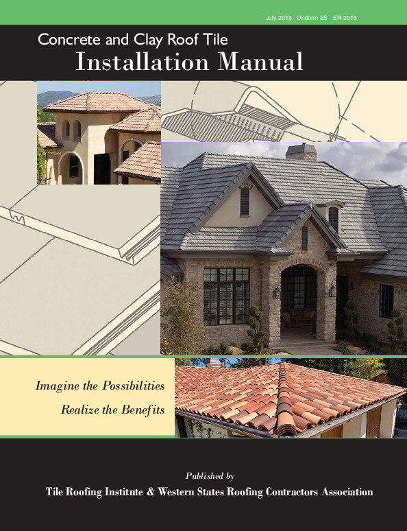 Tri Installation Manual For Moderate Climate Boral Roofing